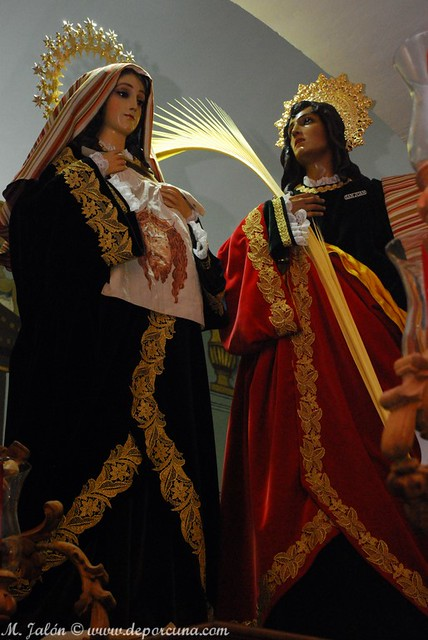 La Verónica y San Juan de la Palma. Foto de MJJ.