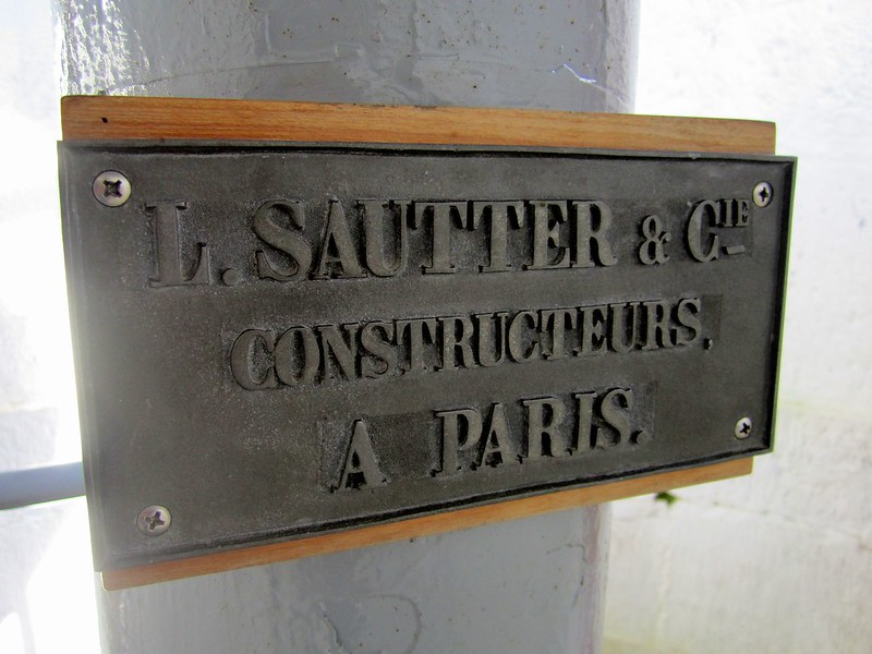 L.Sautter and Compnay Paris the makers of Lantern and Fresnel Lens