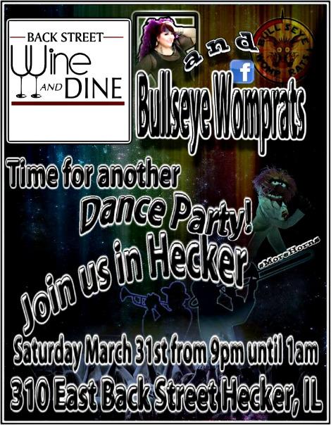 Bullseye Womprats 3-31-18