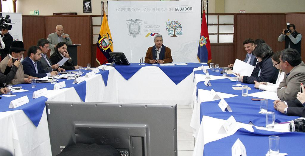 CONVERSATORIO CON MEDIOS DE COMUNICACIÓN DE LATACUNGA, COTOPAXI, 05 DE ABRIL 2018