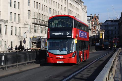 Arriva London HV280 LK17AKJ