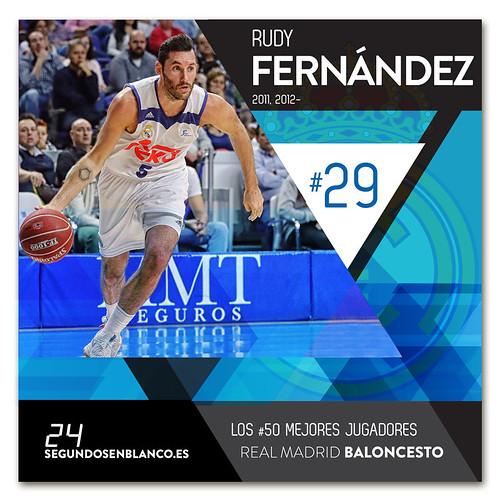 #29 RUDY FERNÁNDEZ