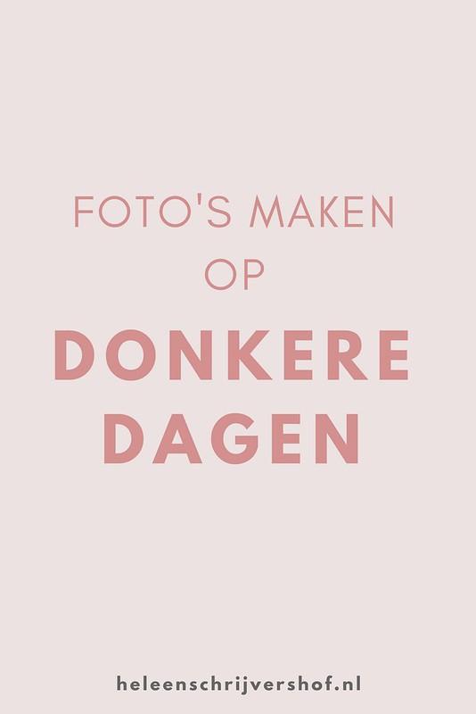 Foto's maken op donkere dagen - Heleen Schrijvershof