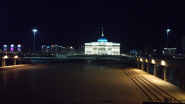 Astana at Night - Kazajstan