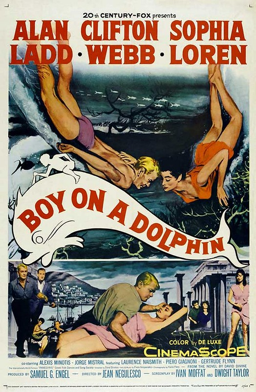Boy on a Dolphin - Poster 1