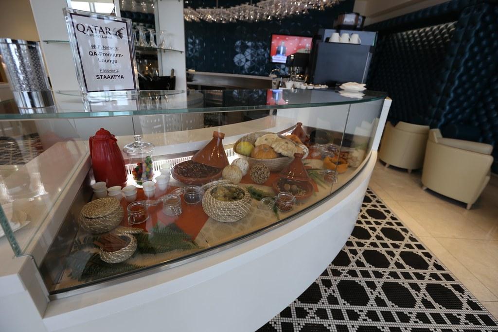 Qatar lounge at Paris CDG 24