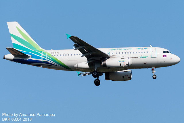 XU-983 // Lanmei Airlines Airbus A319-132