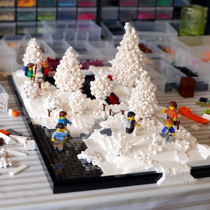 WIP Winter Landscape 4
