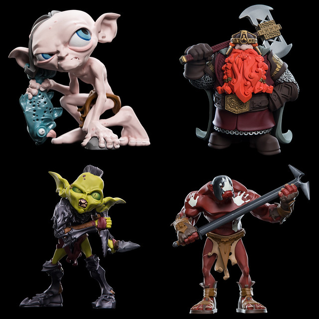 奇幻史詩角色大走可愛風也很可以~! WETA Mini Epics 系列《魔戒》角色人偶第一波 Lord of the Rings Vinyl Figures Series 1