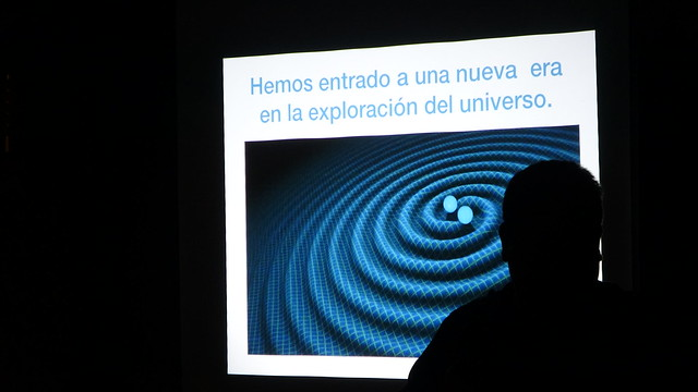 """5to Café Científico """"El amanecer de la astronomía de ondas gravitacionales"""""""