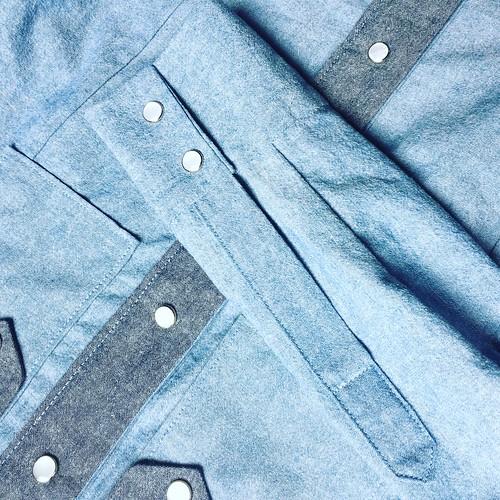 Nels, Chambray Shirt