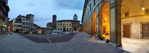 Piazza Grande - Arezzo, Tuscany, Italy