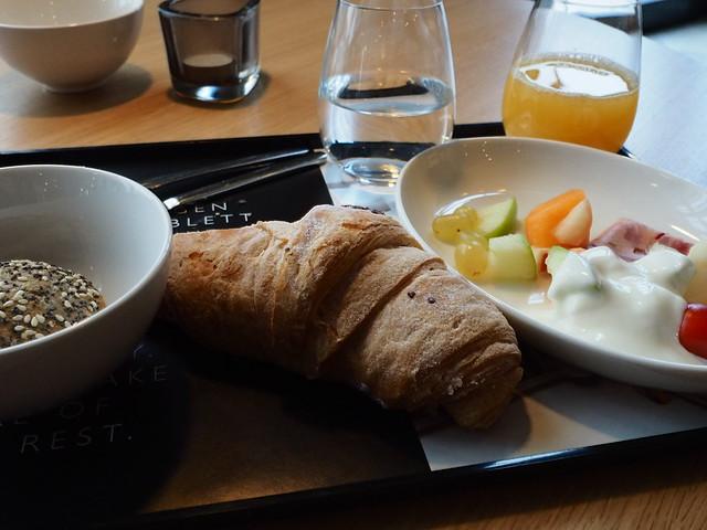 モクシー朝食
