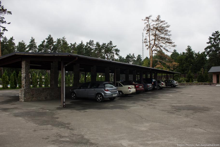Романковская усадьба: парковка
