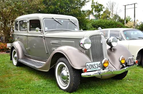 1934 PE Plymouth Sedan