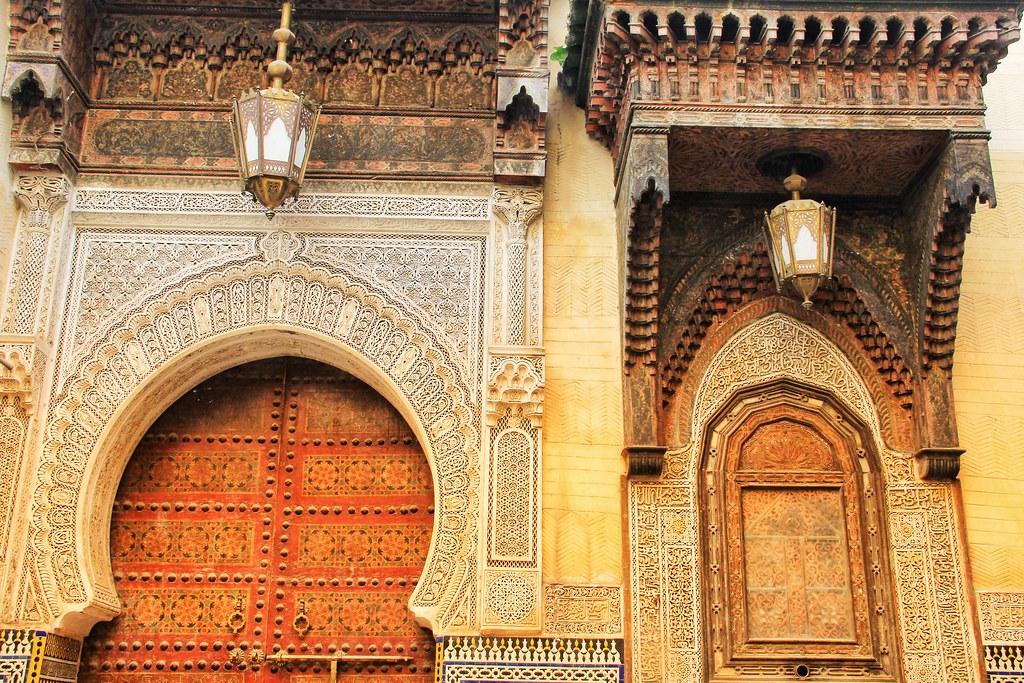 Architecture inside the medina