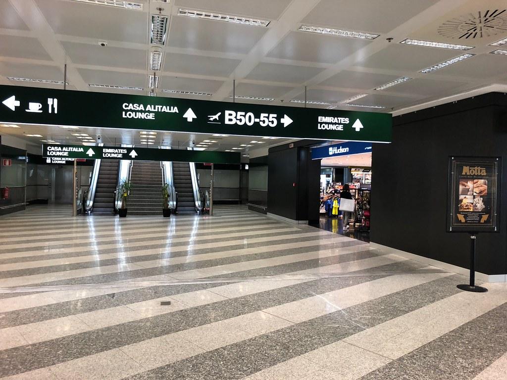 Emirates Lounge Milan MXP 9