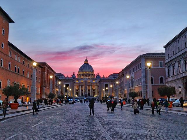 St. Peter's Basilica @ Sunset