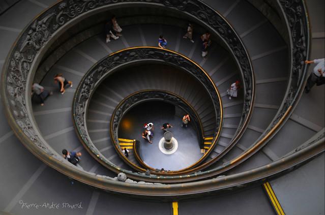 l'Escalier Hélicoïdale ...