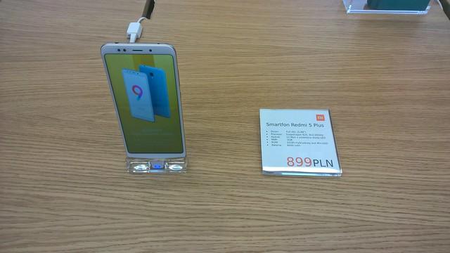 REDMI 5 plus 32GB - 213,6€