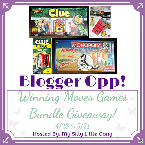 Blogger Opp Winning Moves Games Bundle Giveaway