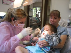 First Dental Visit for a Child
