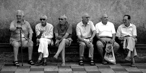 Old people in Sicily