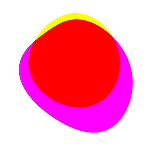 Venn diagram: Consensus red