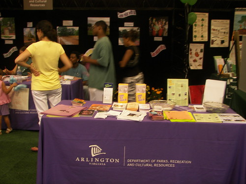 Dept. of Parks, Recreation & Cultural Resources Booth, Arlington County Fair