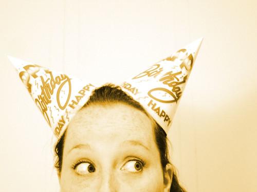 birthday portrait selfportrait me eyes sp bday dork hahaha partyhats ithinkimaybeoneofthem