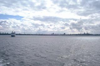 Between Helsinki and Tallinn