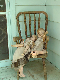 Old Forgotten Baby Dolls