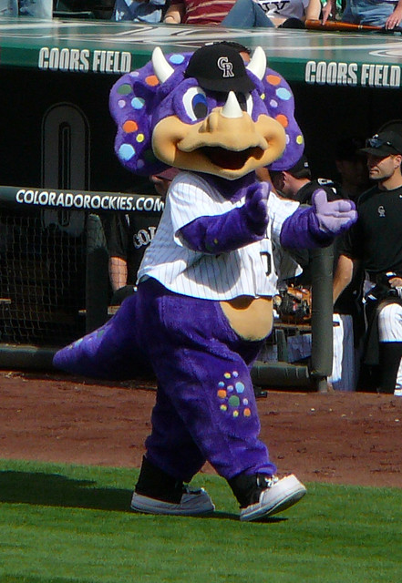 Dinger, Colorado Rockies mascot | Flickr - Photo Sharing!