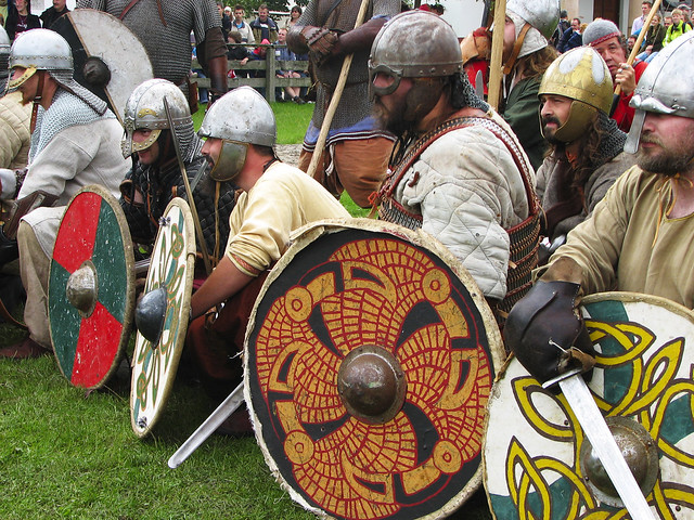 viking warrior flash
