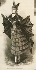 victorian bat costume