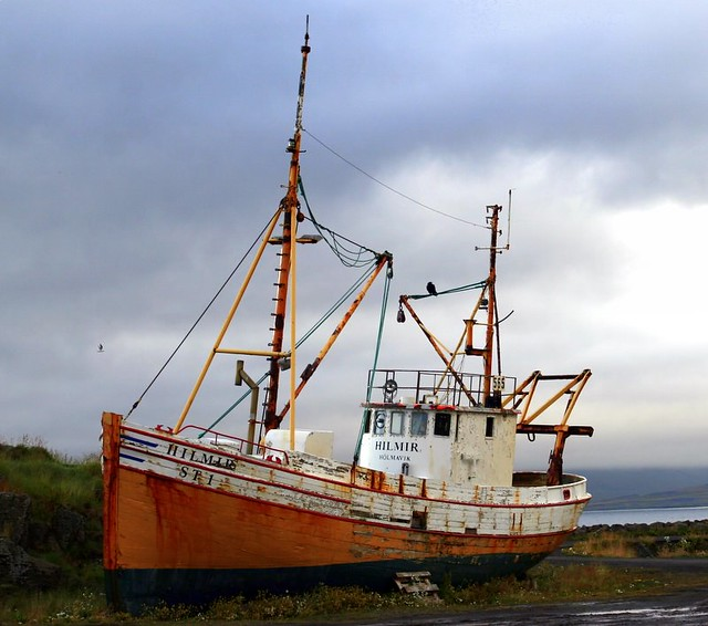 Old Ship - Iceland