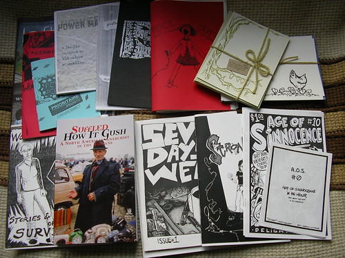 Zines from the SF Zine Fest