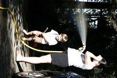 quidditch player versus the garden hose    MG 0826
