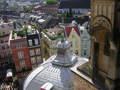 Dachstuhl der Ungarnkapelle