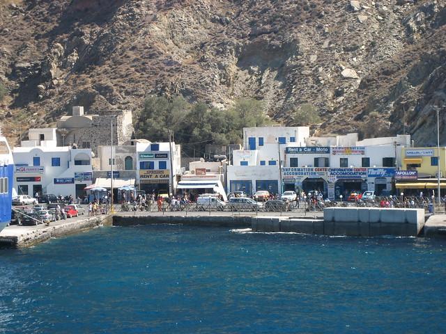 Santorini Harbor Flickr Photo Sharing