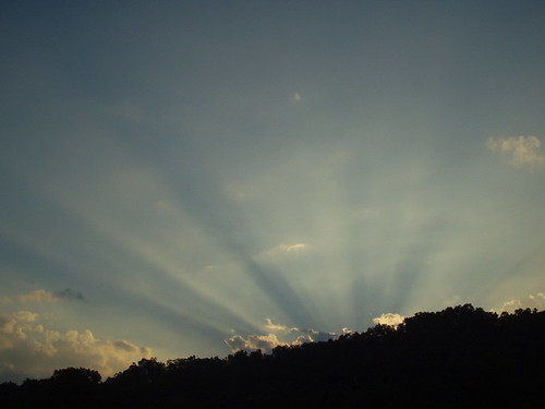 sunset nc rays sunsetrays