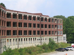 Backside of the hospital