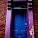 Purple Doorway / Blue Door