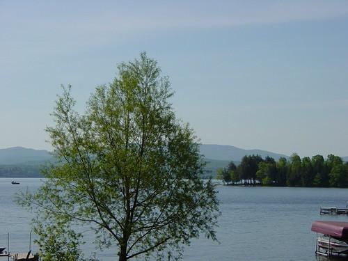 rock de island bay lac vue brome