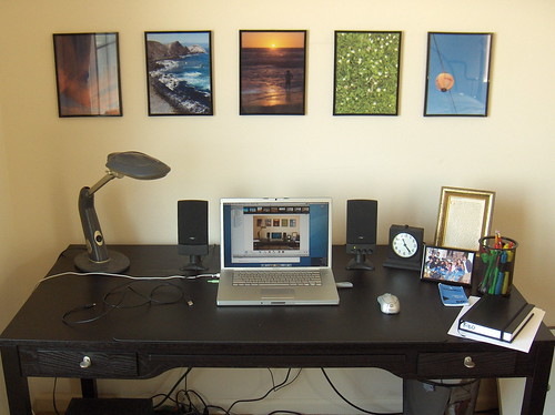 My Newly Remodeled Workspace :-) - Sept 2006