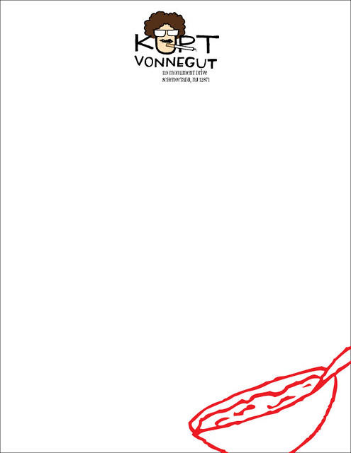 Kurt Vonnegut Letterhead | Flickr - Photo Sharing!
