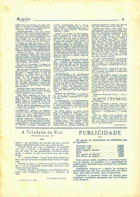 Cinéfilo, March 1930 - 30