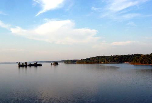 Crossing Lake Barkley from Cadiz, KY