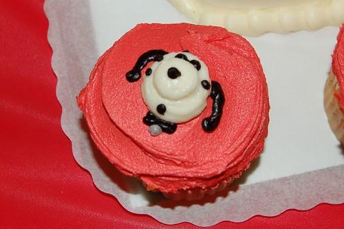 Dalmatian cupcakes!