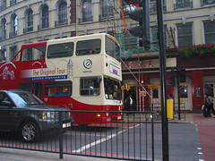 Tourist bus in London